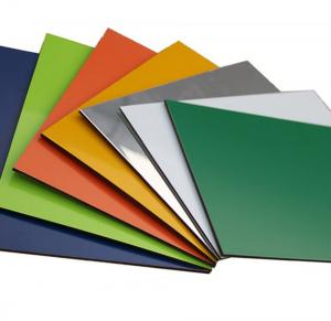 Harga Acp Merek SEVEN Spesifikasi PVDF Untuk Luar Ruangan