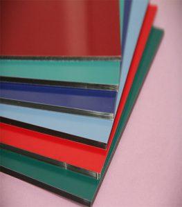 Harga Composite Panel Merek Seven Tebal 4mm PVDF